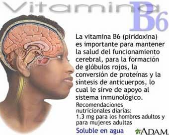piridoxina vitamina b6