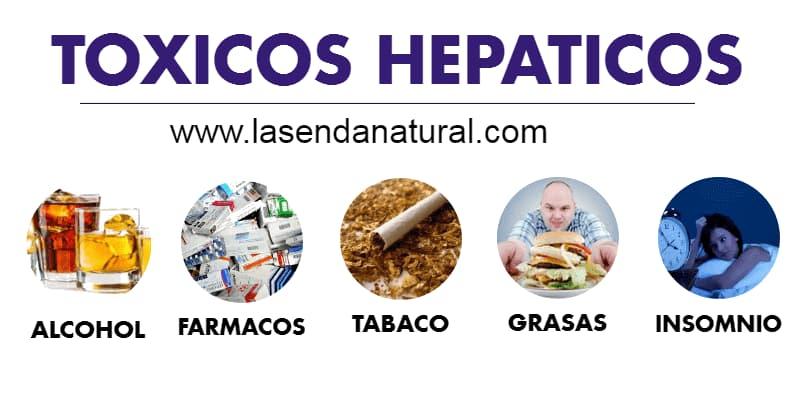 toxicos hepáticos