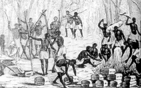 la esclavitud y el azúcar
