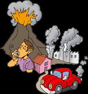exposición a la contaminacion