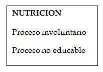 que es la nutricion